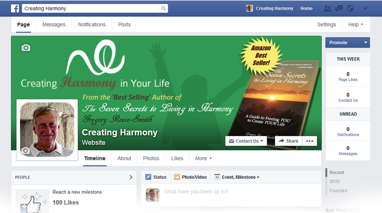 Creating Harmony On Facebook