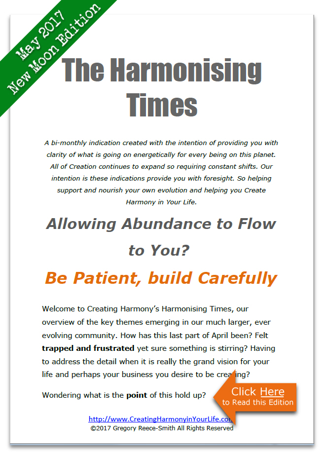 May 2017 New Moon edition Harmonising Times Your Free Copy